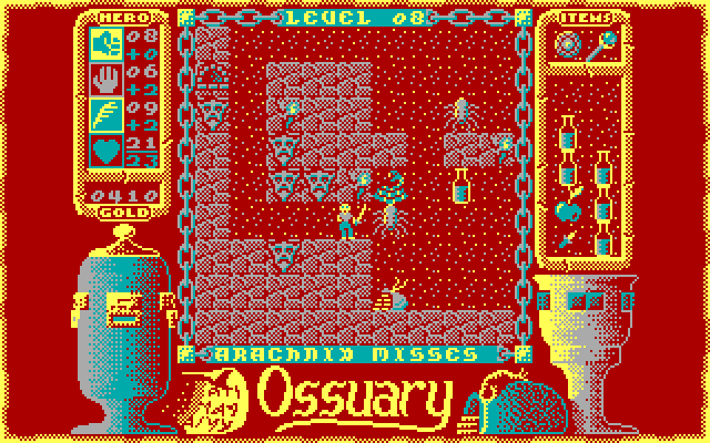 Ossuary Screenshot (DOS)