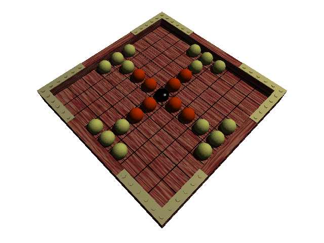 Hnefatafl reconstruction